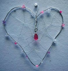 Sweet Mother's Day Surprise! | Library Arts: Wire & Bead Heart