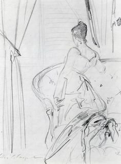 The Athenaeum - Study for Madame X (John Singer Sargent - )