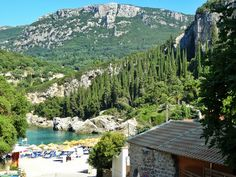Ne-am cumpărat plajă! Și o mare de cărți poștale |  #Corfu #Island #beaches #postcard #view #liapades #trip #europe #CrisJourneys #TheRoadToSummer Corfu, Mount Rainier, Greece, Mountains, Nature, Travel, Greece Country, Naturaleza, Viajes