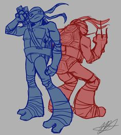 A Team (sketch) by Jellybeanshiba.deviantart.com on @deviantART