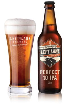 Left Lane Brewing by Jeremy Teff, via Behance