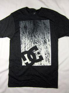 DC Shoes skate premium soft t shirt men's charcoal heather size LARGE #DCShoes #GraphicTee