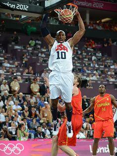 Take a look at some of Kobe Bryant's USA Basketball career highlights. Team Usa Basketball, Basketball Is Life, Basketball Hoop, Kobe Bryant Dunk, Kobe Bryant Michael Jordan, Bryant Lakers, Nba Pictures, Kobe Bryant Black Mamba, Nba Players