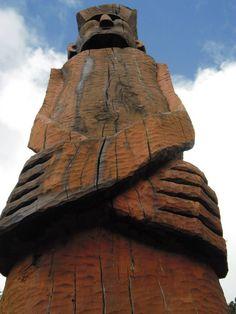 Mapuche totem