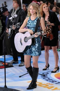 Image result for taylor swift glitter guitar