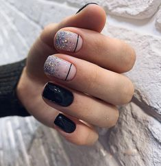 cute nail art designs for short nails 2019 page 23 Cute Acrylic Nails, Acrylic Nail Designs, Cute Nails, Nail Art Designs, Nails Design, Design Design, Design Ideas, Square Nail Designs, Short Nail Designs
