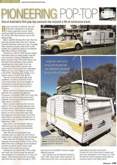 Pop-top Caravans | Vintage Caravans