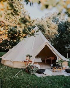 Home - Under the Moon Elopements Bell Tent Glamping, Camping Glamping, Outdoor Fun, Outdoor Spaces, Outdoor Living, Tent Living, Outdoor Camping, Bed And Breakfast, Chillout Zone