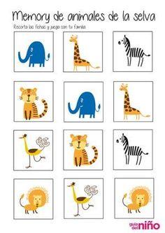 memory de animales
