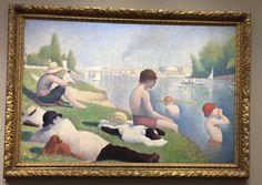 Seurat. National Gallery. London.