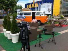 ..set infront of IKEA Graz...