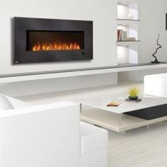 EFL48H Slimline Series  Unmatched flame technology, a realistic flame pattern.