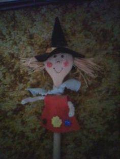 diy witch doll