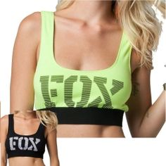 2013 Fox Racing Tricky Casual Motocross Fashion Apparel Women's Sports Bra