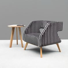 NOTI #modern #upholstered #armchair from FLAI collection #design by…