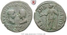 EBay RITTER Thrakien, Mesembria, Philippus I., Otacilia Severa, Demeter #coins
