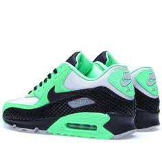 Nike Air Max 90 Premium (Poison Green & Black) Nike Air Max Premium, Buy Lingerie, Air Max Sneakers, Sneakers Nike, Nike Tennis, Nike Basketball Shoes