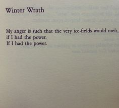 "Joyce Carol Oates, ""Winter Wrath."""