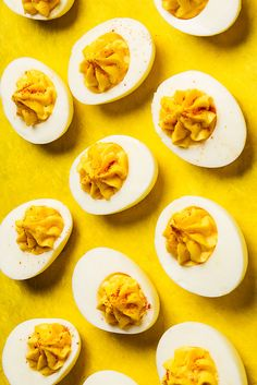 Deviled Eggs. Vivian Howard adds a punch of vinegar to her deviled eggs. Butter and vinegar are the essential ingredients to the perfect deviled egg.
