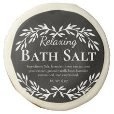Black Vintage Relaxing DIY Bath Salt Labels | Zazzle.com Diy Bath Salt Labels, Black Chalkboard, Diy Chalkboard, Bath Salts, Homemade Scrub, Relaxing Bath, Easy Peel, Vintage Labels, Bath Bombs