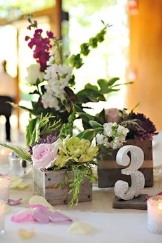standing table number covered in lace