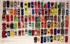 Assorted Toy Cars Hot Wheels and Matchbox Cars Lot Of 100 #HotWheelsMatchboxandOthers #Various