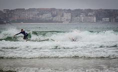 Surfeando en Cantabria