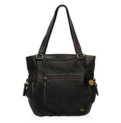 Tote Bags. The Sak Kendra tote is perfect for the on-the-go Mom or the girl who carries everything with her! Leather exterior Polyurethane trim Nylon lining Antiqued brasstone hardware Dimensions: 11.5L x 4W x 11.75H, Drop 10.5Zip closure Outside front pocket with zip closure Back zip pocket Lining with two multi-function pockets