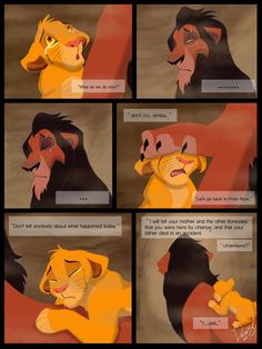 What should have happened... He shouldn't have killed Mufasa in the first place