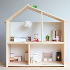 IKEA Flisat Modern Dollshouse Dolls House Weald Blog