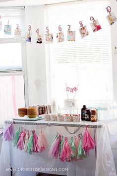 Ice Cream Birthday Party - Short Stop Designs - Ice cream party - # Ice Cream Theme, Ice Cream Day, Yummy Ice Cream, First Birthday Photos, Sweet 16 Birthday, 1st Birthday Girls, Birthday Ideas, Lego Birthday, Birthday Parties