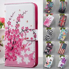 Flip-Leather-PU-Wallet-Stand-Case-Cover-For-Samsung-Galaxy-S5-4-3-Note3-2-Girls