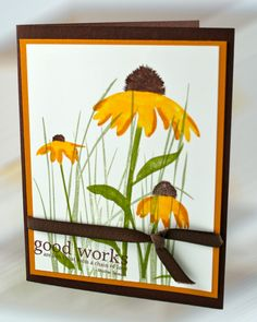 Stampin Up! stamp set Inspired by Nature