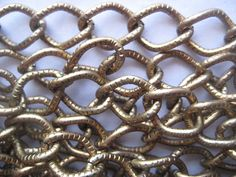 3 feet Vintage Large 13mm x 11mm Link Bronze Chain by StarPower99, $5.00