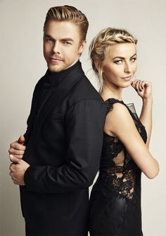 My former photography teacher, now photographing celebs. Lucky guy!  treverhoehne-julianne-hough-derek-hough
