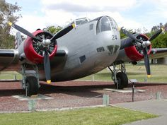 B-18 on display at the Castle Air Museum