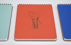 Chef's Tools Notebook Spiral Bound Journal by hartfordprints