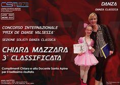 Concorso Internazionale 'PRIX DE DANSE VALSESIA' Solisti Danza Classica MAZZARA CHIARA 3° CLASSIFICATA Complimenti Chiara per il bellissimo risultato e alla Docente Santa Apine Seguici sulla nostra pagina ufficiale: https://www.facebook.com/csmerone/ O sul nostro sito: http://www.csm1973.it/2017/04/03/chiara-mazzara-3-classificata/ Centro Sportivo Merone Via Paolo VI 22046 Merone CO Telefono: 031 650305 #danza #classica #palestra #fitness #centrosportivomerone #csm1973 #Merone #Erba #Lecco…