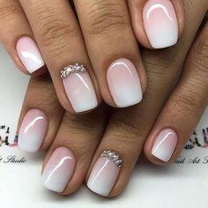 Pink Gel Nail
