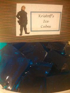 Frozen party jello cubes