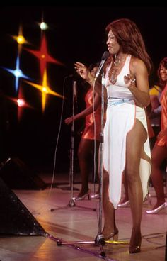 Ike and Tina Turner performing in 1973.