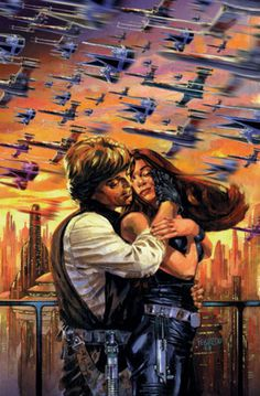 Luke Skywalker and Mara Jade