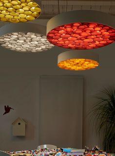 Polywood® pendant #lamp SPIRO S by LZF   #design Remedios Simón @lzflamps