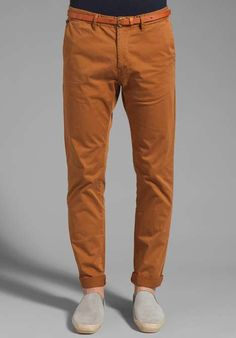 Belted Chino Pant