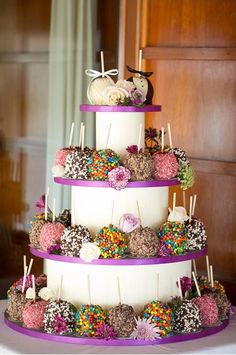 candy apple display