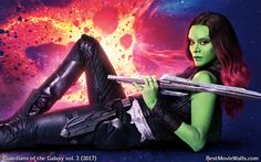 #GOTG2 #Gamora hd #wallpaper :]