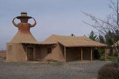 Wooden village Nahidyoussefi-Khorasan province - Iran (Persia)