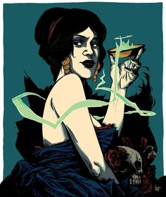 Circe by beckycloonan on DeviantArt