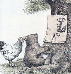 A kiss for Little Bear. By Maurice Sendak.