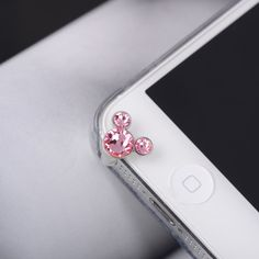 Micky IPhone 5 Dust Plug Headphone Plug Charm - Sparkly decoration in Swarovski Crystal. $9.99, via Etsy.